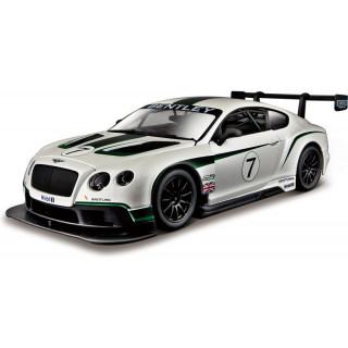 Bburago Bentley Continental GT3 1:24 bílá