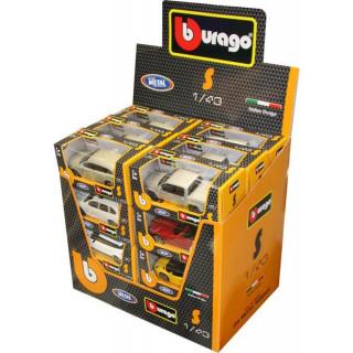 Bburago sada modelů aut Classic 1:43 24ks