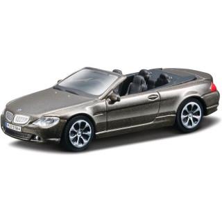 Bburago BMW 645 Ci 1:43 hnědá metalíza