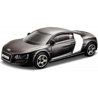 Bburago Audi R8 1:43 fekete