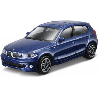 Bburago BMW Series 1 1:43 modrá metalíza
