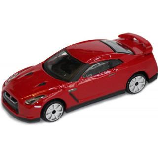 Bburago 2009 Nissan GT-R R35 1:43 červená