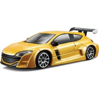 Bburago Renault Mégane 1:43 sárga metál