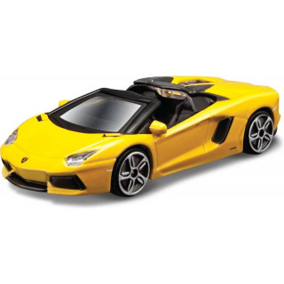 Bburago Aventador LP 700-4 Roadster 1:43 sárga