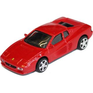 Bburago Ferrari 512 TR 1:43 červená