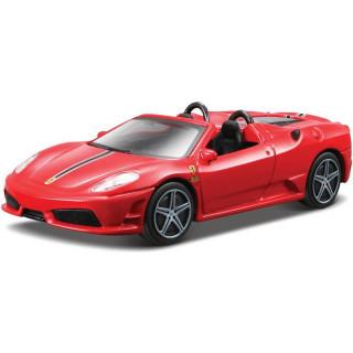 Bburago Ferrari Scuderia Spider 16M 1:43 červená
