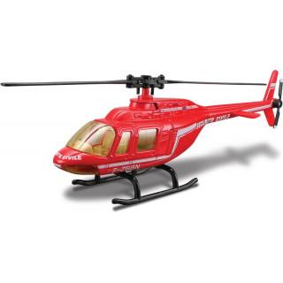 Bburago vrtulník Security 1:50 červená