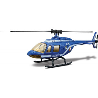 Bburago vrtulník Gendarmerie 1:50 modrá