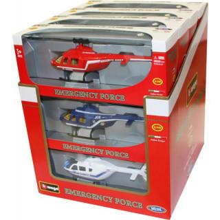 Bburago sada modelů vrtulníků 1:50 12ks
