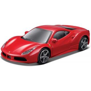 Bburago Ferrari 488 GTB 1:43 piros