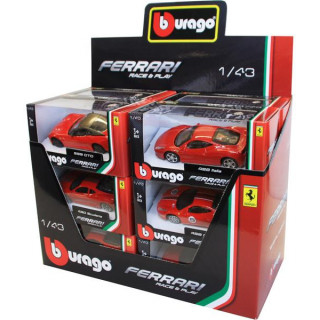 Bburago autómodell szett Ferrari 1:43 12 db.