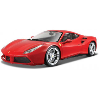 Bburago Signature Ferrari 488 GTB 1:43 piros