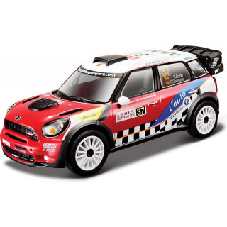 Bburago Mini John Cooper Works WRC 2012 1:32 Dani Sordo