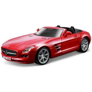 Bburago Mercedes-Benz SLS AMG Roadster 1:32 červená