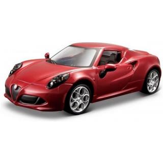 Bburago Alfa Romeo 4C 1:32 červená metalíza