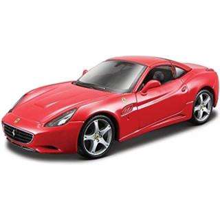 Bburago Ferrari California (hard top) 1:32 červená
