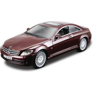 Bburago Kit Mercedes-Benz CL 550 1:32 červená metalíza