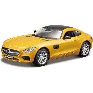 Bburago Kit Mercedes-AMG GT 1:32 žlutá metalíza