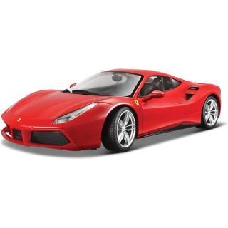 Bburago Ferrari 488 GTB 1:32 červená