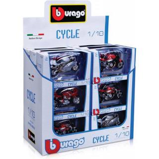 Bburago sada modelů motocyklů 1:18 18ks