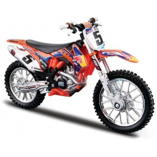 Bburago Red Bull KTM 450 SX-F 2014 1:18 NO5