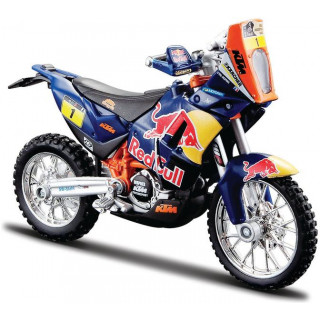 Bburago Red Bull KTM 450 Rally Dakar 1:18 NO1