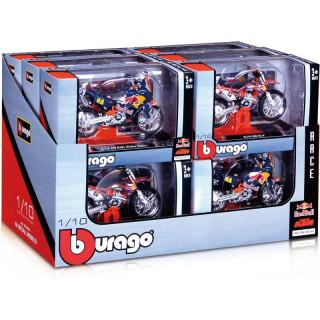 Bburago motorkerékpár-modell szett Red Bull KTM 1:18 12 db.