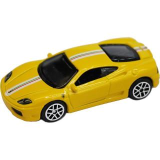 Bburago Ferrari Challenge Stradale 1:64 žlutá
