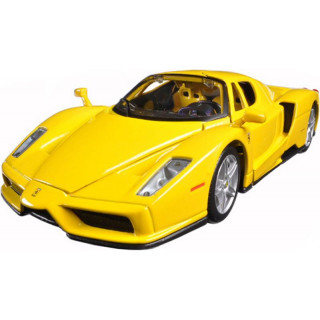 Bburago Ferrari Enzo 1:64 žlutá