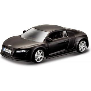 Bburago Audi R8 1:64 černá
