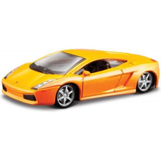 Bburago Lamborghini Gallardo 1:64 oranžová metalíza
