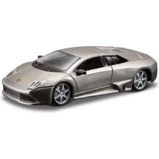 Bburago Lamborghini Murciélago LP 640 1:64 šedá metalíza