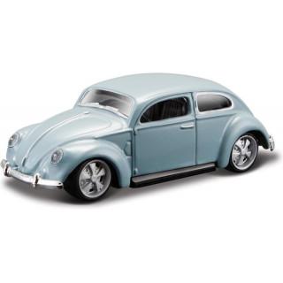 Bburago Volkswagen Beetle 1:64 šedá