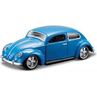 Bburago Volkswagen Beetle 1:64 kék