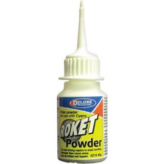 Roket Powder plnidlo vteřinových lepidel 40g