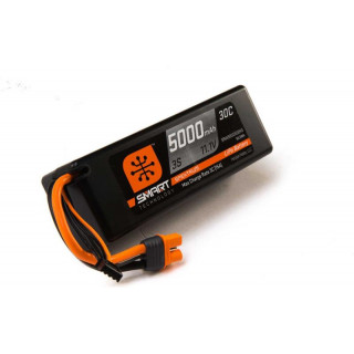 Spektrum Smart LiPo Car 5000mah 3S 11.1V 30C HC IC3