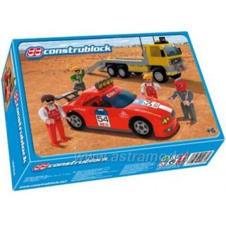 Construblock - Přepravní truck se závodním autem