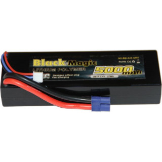 Black Magic LiPol Car 7.4V 5000mAh 35C EC3