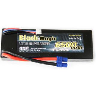 Black Magic LiPol Car 7.4V 6500mAh 35C EC3