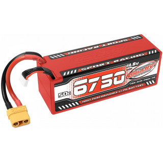 Corally LiPo Sport Racing 14.8V 6750mAh 50C XT90