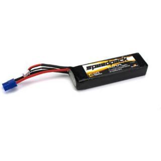 Batéria LiPol 11.1V 1400mAh Long 30C EC3: Mini