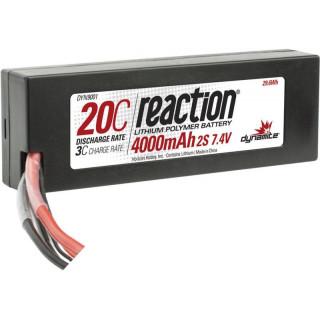 LiPol Reaction Car 7.4V 4000mAh 20C HC EC3