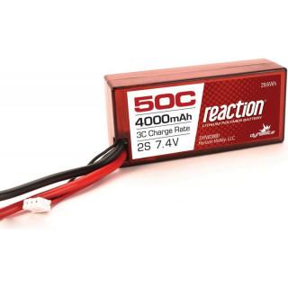 LiPol Reaction Car 7.4V 4000mAh 50C 96mm EC3 Twin Hammers