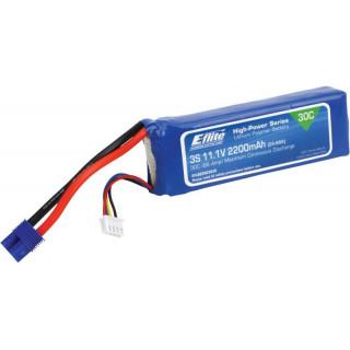 E-flite LiPol 11.1V 2200mAh 30C EC3
