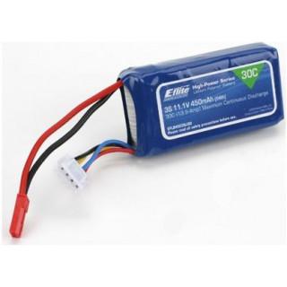 E-flite LiPol 11.1V 450mAh 30C JST