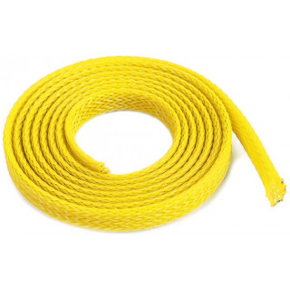 Ochranný kabelový oplet 6mm žlutý (1m)