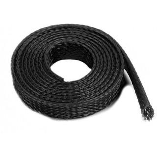 Ochranný kabelový oplet 8mm černý (1m)