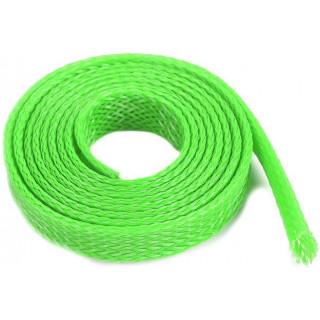 Ochranný kabelový oplet 8mm zelený (1m)