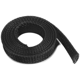 Ochranný kabelový oplet 10mm černý (1m)