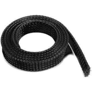 Ochranný kabelový oplet 14mm černý (1m)